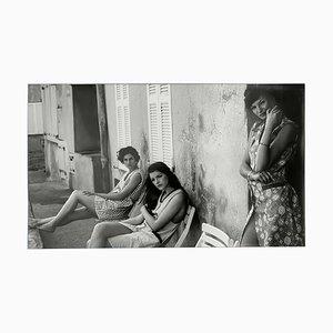 Alain Daussin, Trois filles Saint Tropez, 2002, SIlver Print