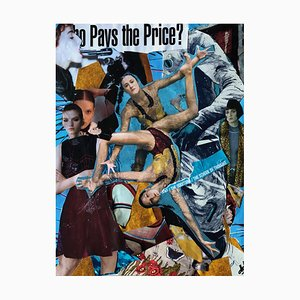 DHDLP, Who Pays the Price, 2020, Paper Collage