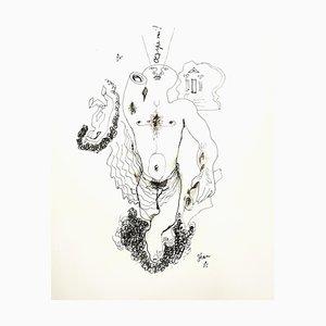 Jean Cocteau - King Oedipus - Original Lithograph 1956
