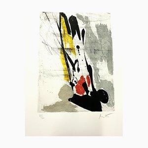 Jean Miotte - Abstrakte Komposition - Radierung 1994