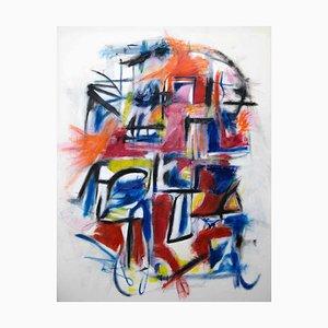Giorgio Lo Fermo, The War, 2020, Oil Painting