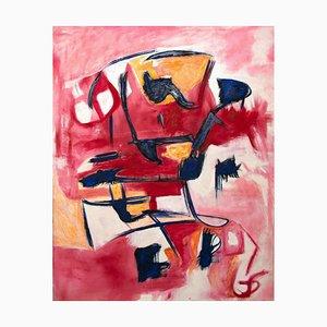 Giorgio Lo Fermo, Violent Violet, 2020, Oil Painting