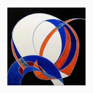 Giorgio Lo Fermo, Der magische Kreis, 2020, Ölgemälde