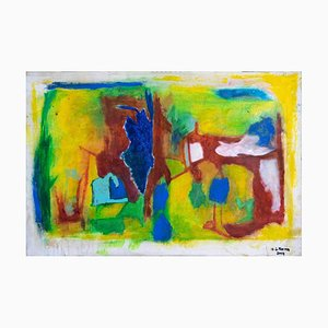 Giorgio Lo Fermo, Informal Painting, 2020, Oil Painting