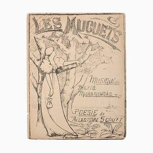 Musik und Poesie Programm, 1880, Litograph