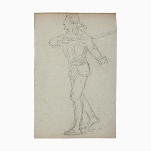 Theatrical Costume, 20th Century, Pencil Drawing
