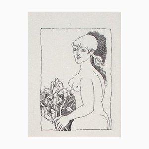 Franco Gentilini, The Girl, 20th Century, Offset Print