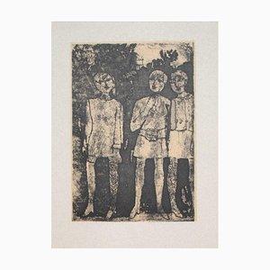 Franco Gentilini, Mädchen, 20. Jahrhundert, Offsetdruck