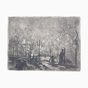 Winter Garden, Offset Print on Paper, 20th Century