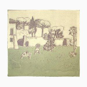 Garden, Late 20th Century, Lithograph