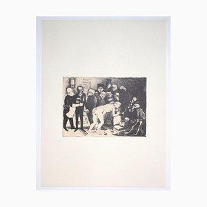 Franco Gentilini, Despair, 20th Century, Offset Print