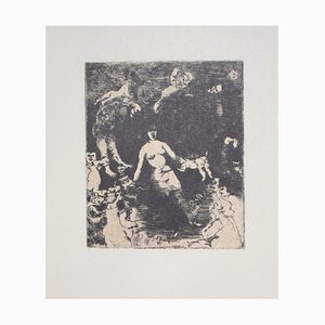 Franco Gentilini, Horror Scene, 20th Century, Offset Print