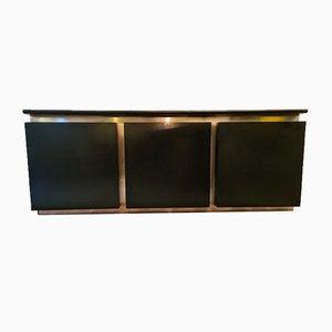 Sideboard aus Geschwärztem Holz von Lodovico Acerbis