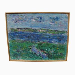 Gosta Lindqvist, Oil Painting, 1960s