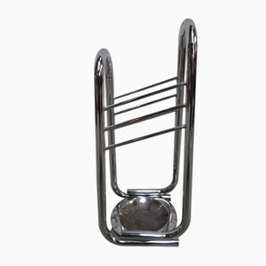 Vintage Chrome Umbrella Stand