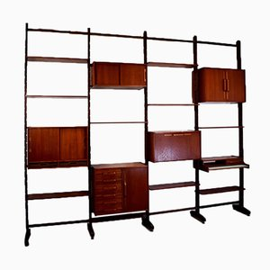 Modular Bookcase by Gianfranco Frattini, 1960s