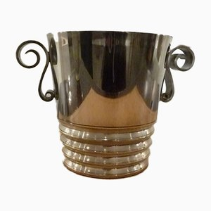 French Art Deco Champagne Bucket from Grenadier, 1920s