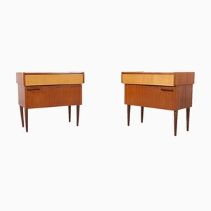 Rosewood Cabinets, 1960s, Set of 2