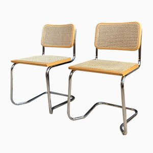 Model B32 Dining Chairs by Marcel Breuer, 1960s, Set of 2