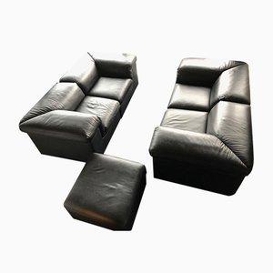 Belgisches Sofa Set von Durlet, 1980er, 5er Set