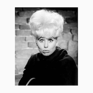 Cheeky Barbara Windsor In Crooks In Cloisters Archival Pigment Print Framed In Black by Everett Collection