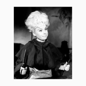 Barbara Windsor In Crooks In Cloisters Archival Pigment Print Framed In White by Everett Collection
