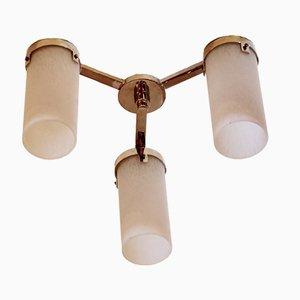 Lámpara de techo Petitot francesa Art Déco