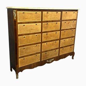 Louis XV Rosewood Filing Cabinet