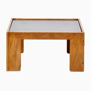 Walnut Model 771 Coffee Table by Tobia & Afra Scarpa for Cassina, 1960s