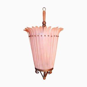 Plexiglas Ceiling Lamp, 1960s