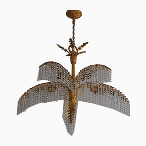 Palm Chandelier by Hoffman for Bakalowits & Söhne, 1970s