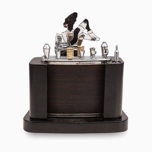 Art Deco Bar Shaped Cigarette Dispenser, 1920s