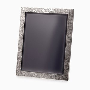 Solid Silver Large Photo Frame by John C Moore for Tiffany & Co, 1908