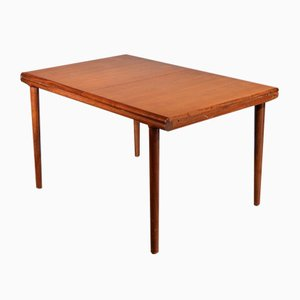 Danish Extending Teak Table, 1960s
