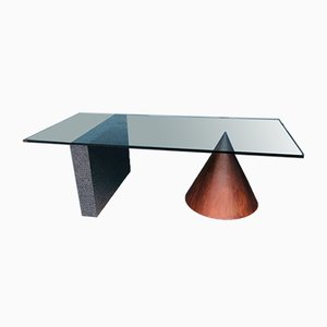 Kono Architectural Dining Table by Massimo and Lella Vignelli for Casigliani, 1984