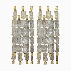 Sconces by Ercole Barovier for Barovier & Toso, 1950s, Set of 2