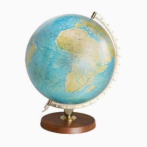 Mid-Century Illuminated Globe from Scan Globe A/S, 1960s