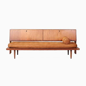 Mid-century Vintage Daybed & Sideboard, 1960s