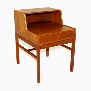 Teak Casino Nightstand by Sven Engström & Gunnar Myrstrand for Tingström, 1960s