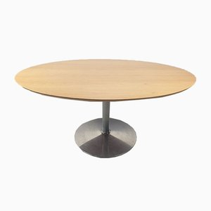 Oval Model Circle Dining Table by Pierre Paulin for Artifort