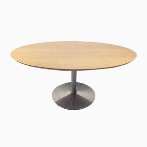 Ovaler Modell Circle Esstisch von Pierre Paulin für Artifort