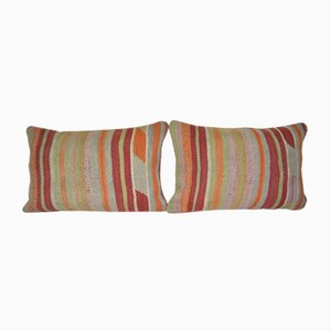 Traditional Kilim Cushion Covers, Set of 2