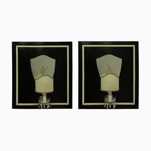 Italian Sconces, 1940s, Set of 2