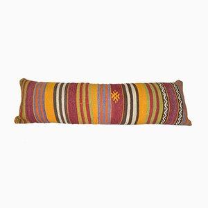 Turkish Lumbar Cushion Cover with Anatolian Design