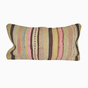 Woven Wool Turkish Patchwork Kilim Cushion Cover