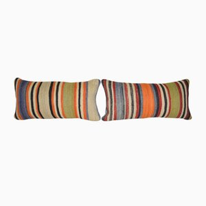 Anatolian Kilim Cushion Covers, Set of 2