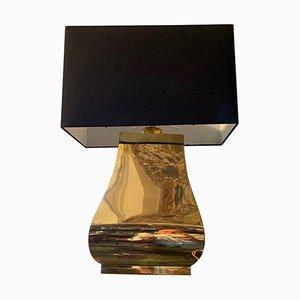 Mid-Century Modern Brass Italian Table Lamp, 1960s