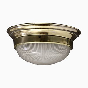 Vintage French Art Deco Ceiling Lamp from Holophane