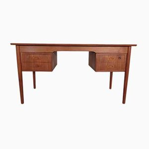 Teak Schreibtisch von IMHA, 1960er