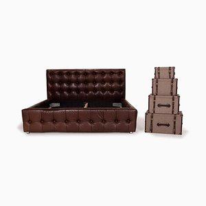 Braunes Leder Tagesbett von Bretz